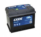 Аккумулятор автомобильный Exide Excell  EB621 Прямая 62 540 для ВАЗ 2108, 2109