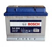 Аккумулятор автомобильный Bosch S4 Silver S4006 Прямая 60 540 для ВАЗ 2108, 2109
